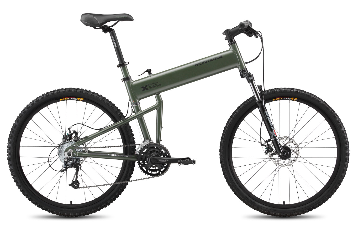 Paratrooper mountain folding bike for The montague