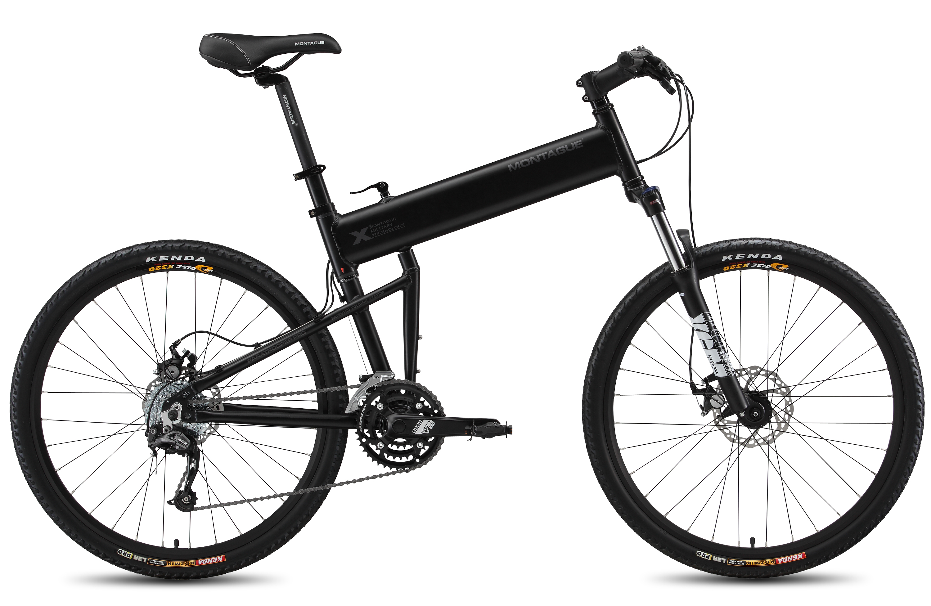Paratrooper Pro Mountain Folding Bike