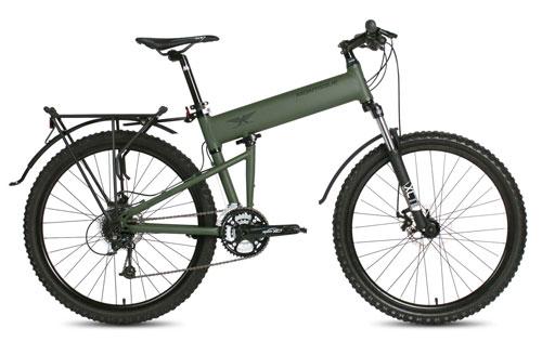 Paratrooper folding bike open