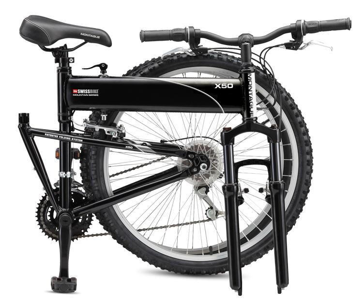 2011 Swissbike X50 Folding Bike Folded