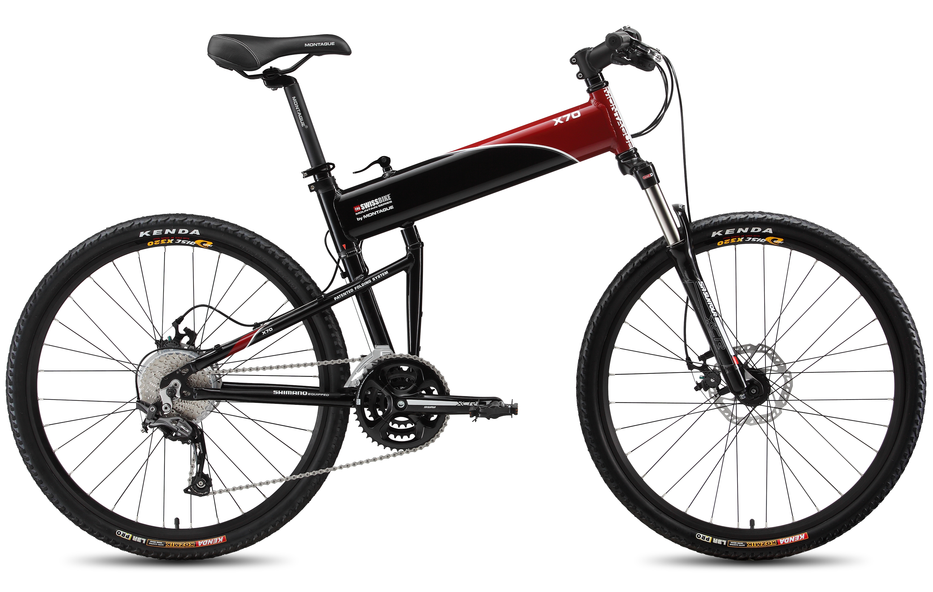 X70 Mountain Folding Bike