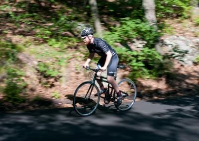 2015 Montague FIT folding bike riding