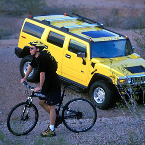 Montague Hummer Folding Mountain Bike