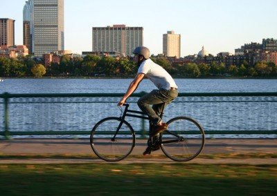 2015 Montague Boston folding bike commuting
