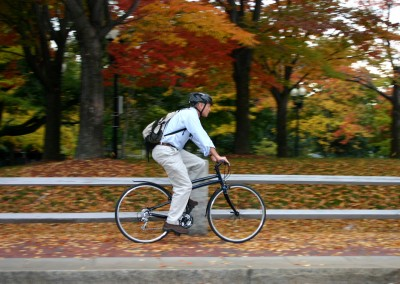 2015 Montague Navigator folding bike commuting