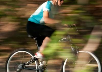 Montague X50 folding bike riding fast