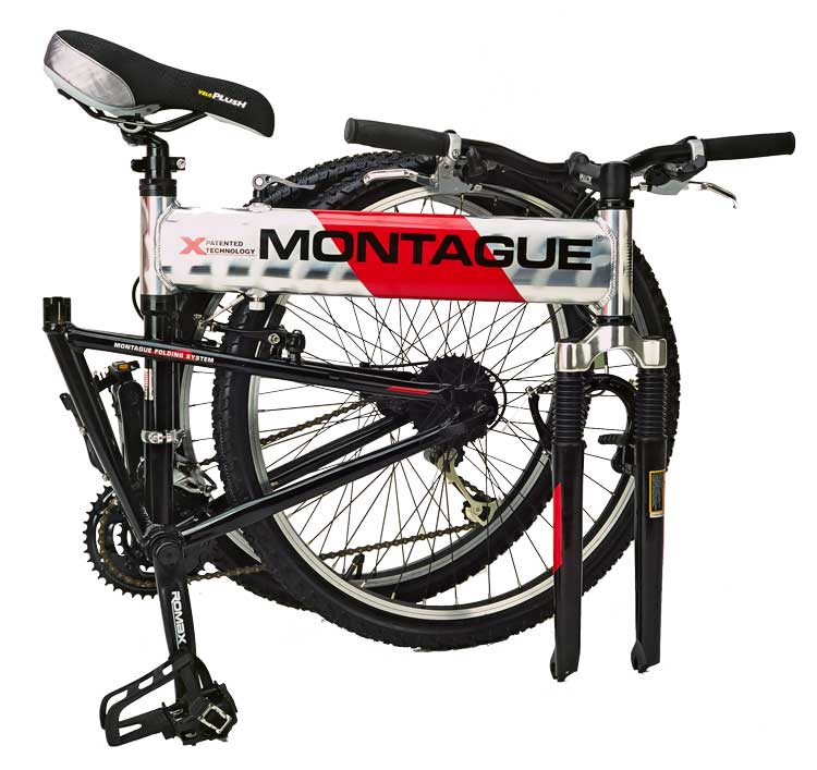 2004 Montague MX Folding Mountain Bike