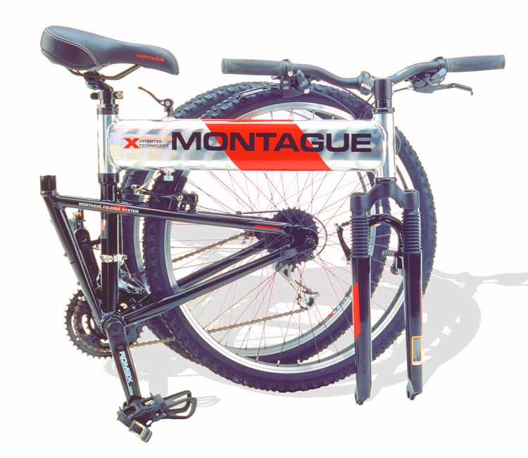 2005 Montague MX Folding Mountain Bike
