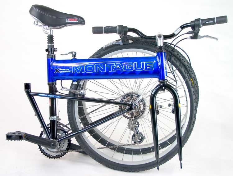 2006 CX Comfort Folding Bike Folded