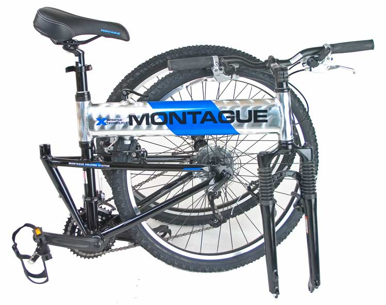 2006 Montague MX Folding Mountain Bike