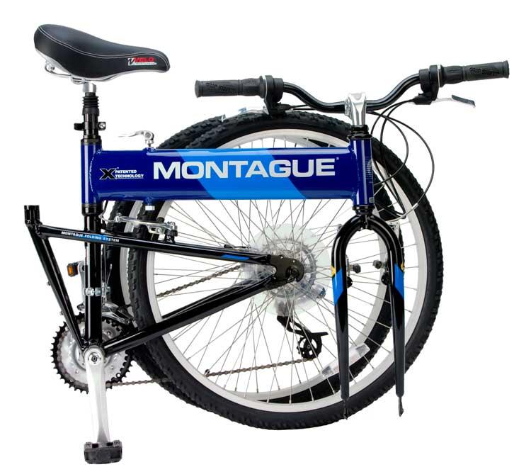 2008 CX Comfort Folding Bike Folded
