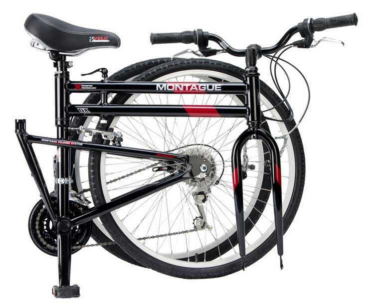 2008 DX Crossover Folding Bike Folded