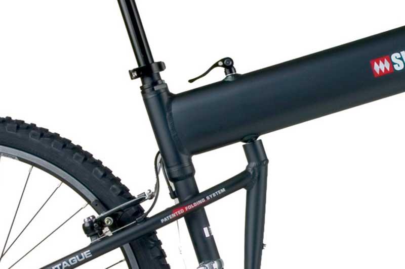 Swissbike LX Folding System Closeup