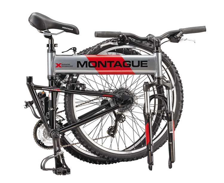 2007 Montague MX Folding Mountain Bike