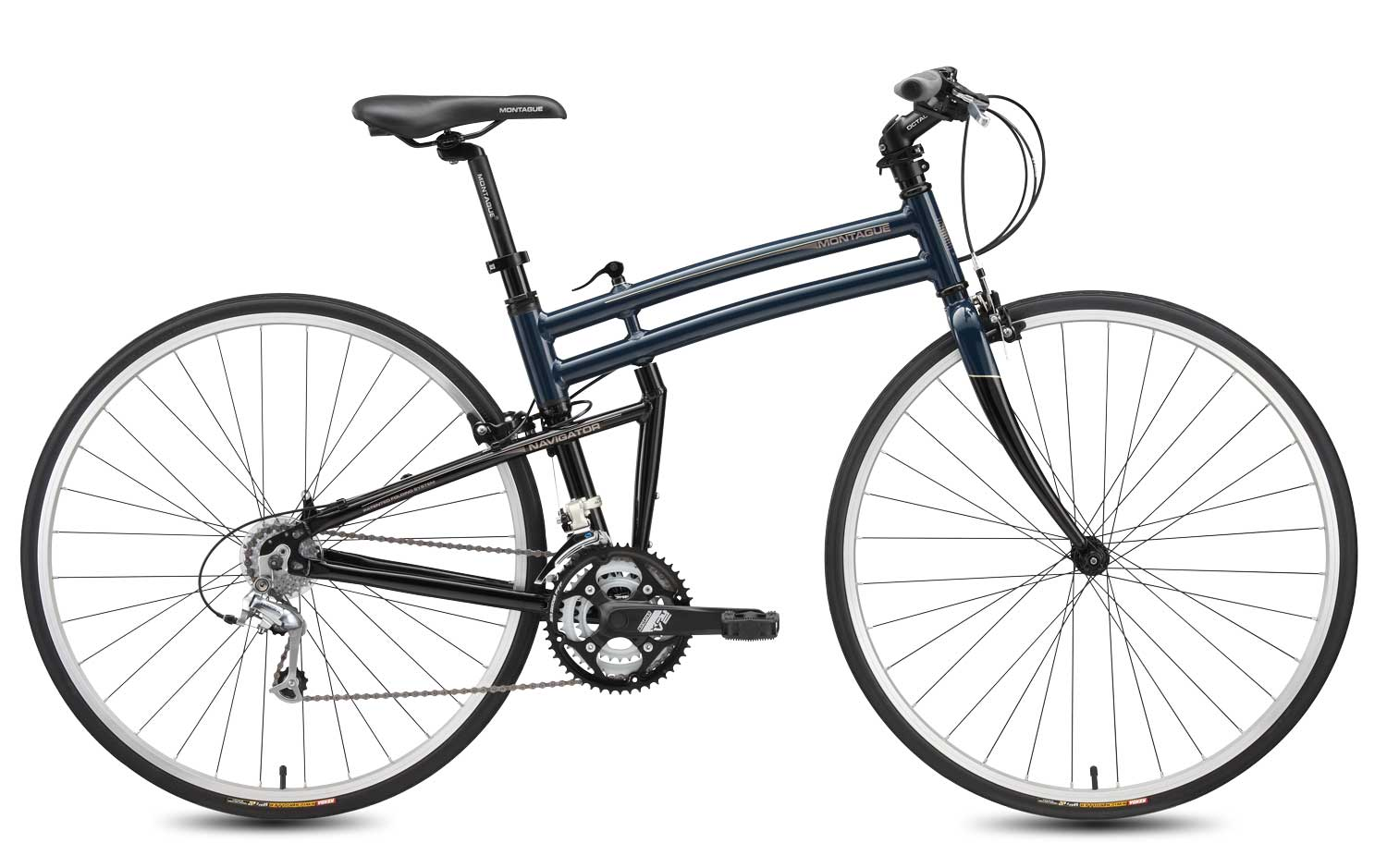 2010 Navigator folding bike open