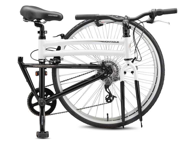 2011 Crosstown Folding Bike Folded