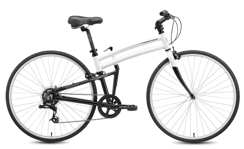 2010 Crosstown folding bike open