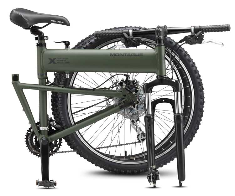 2010 Paratrooper Folding Mountain Bike Folded