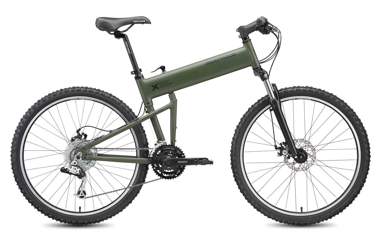 2010 Paratrooper folding bike open