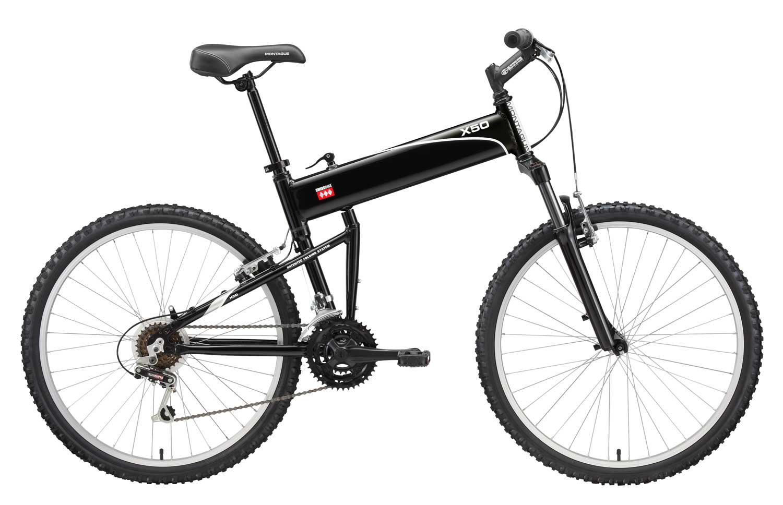 2010 X50 folding bike open