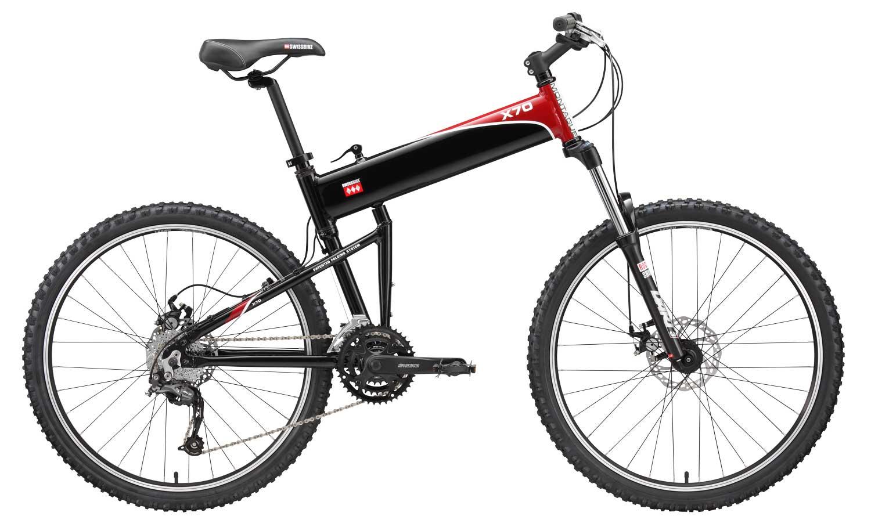 2010 X70 folding bike open