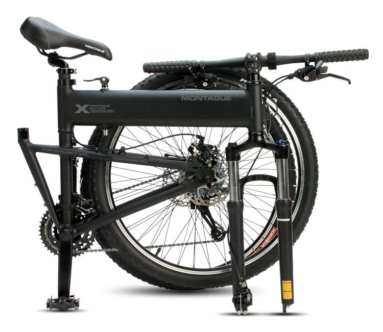 2011 Paratrooper Pro Folding Bike Folded