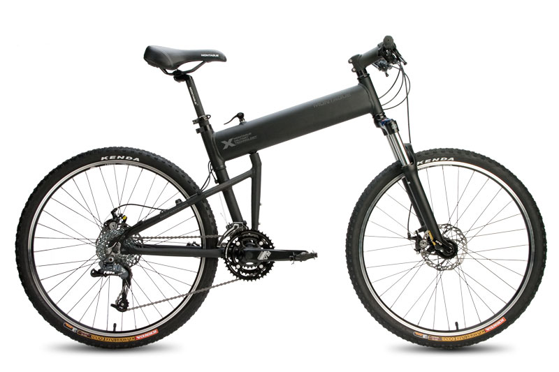 2011 Paratrooper Pro Folding Bike Open