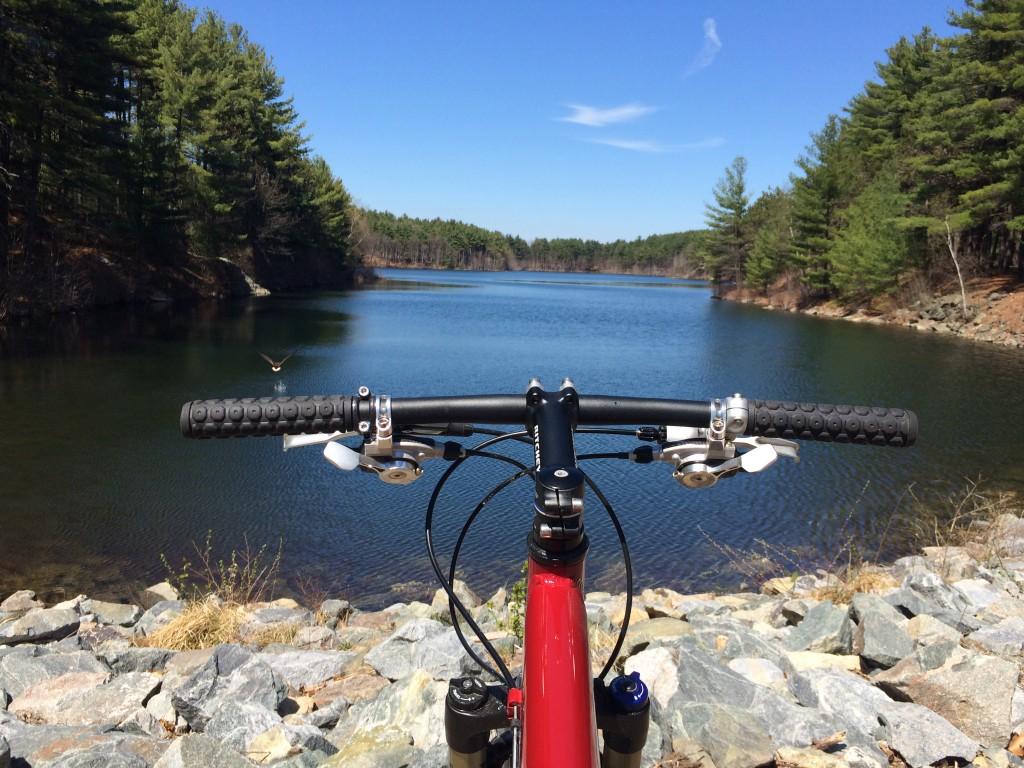 Montague Folding Bike Handlebars at Resevoir MTB