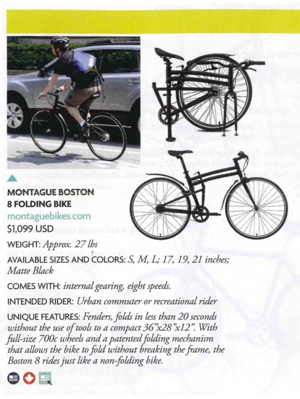 Montague Boston 8 Momentum Gear Guide Feature