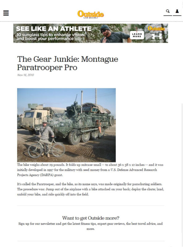 Montague Outside Magazine