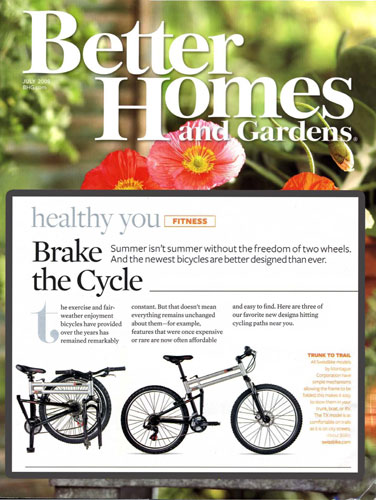 Montague in Better Homes and Gardens