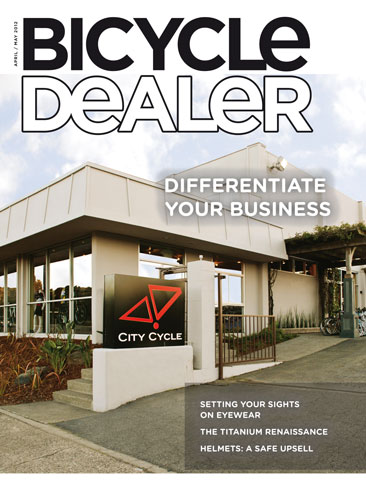 Bicycle Dealer Magazine Cover - Montague Bikes Review