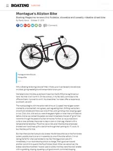 Boating Mag Montague Folding Bike Article Thumbnail