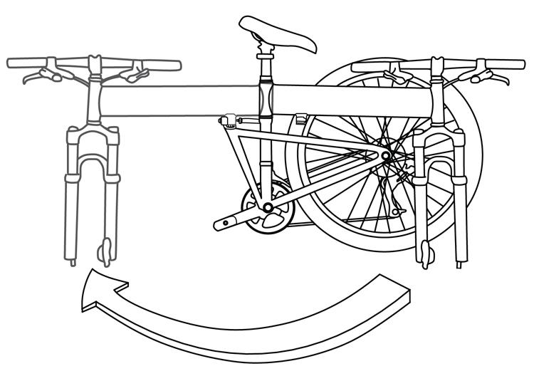Fig. 24: Unfold the frame.