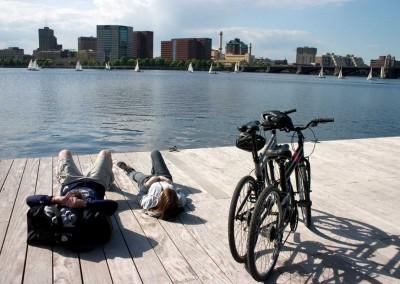 dx-and-tx-folding-bikes-near-river