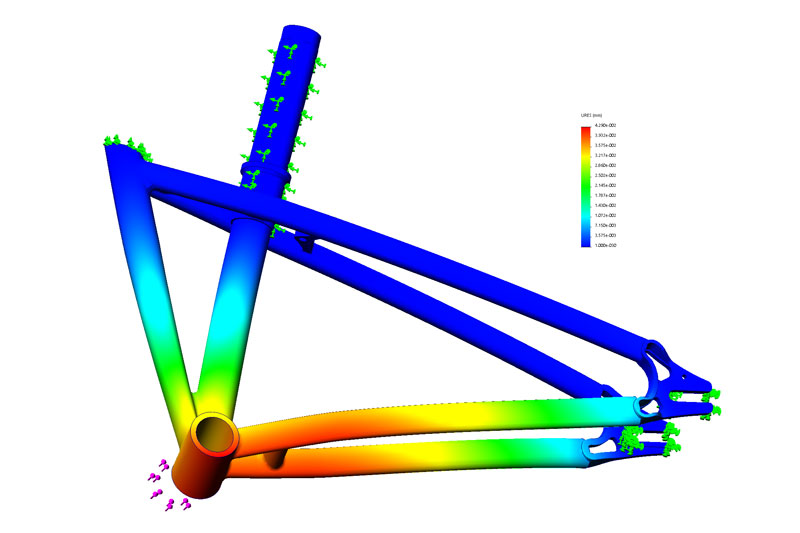 Computer Aided Design Bike Model