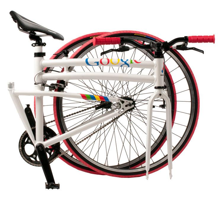 Google Folding Bike Folded