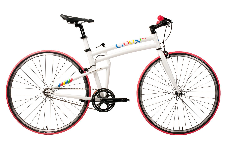 Google Folding Bike open