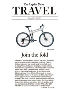 Los Angeles Times Montague Bikes Feature