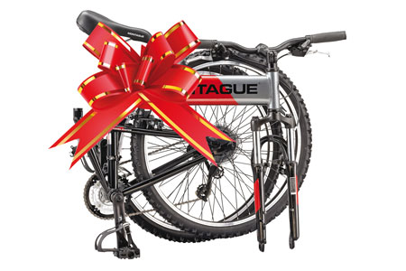 Montague Folding Bike as a Gift