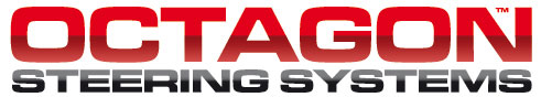 Octagon adjustable stem logo