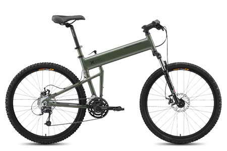 2009 Montague Paratrooper Folding Bike