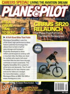 Plane and Pilot Montague Bikes TX Feature