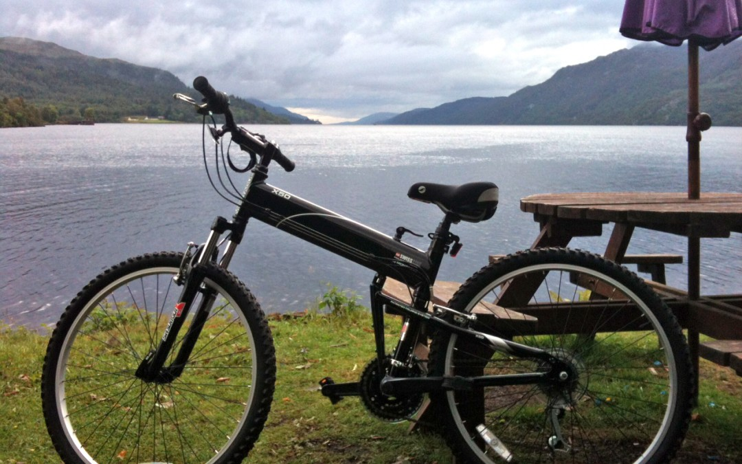 A Trip to Scotland with a Montague X50 Folding Bike