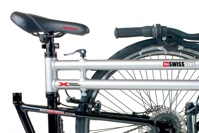 2009 TX Folding Bike Frame System Closeup