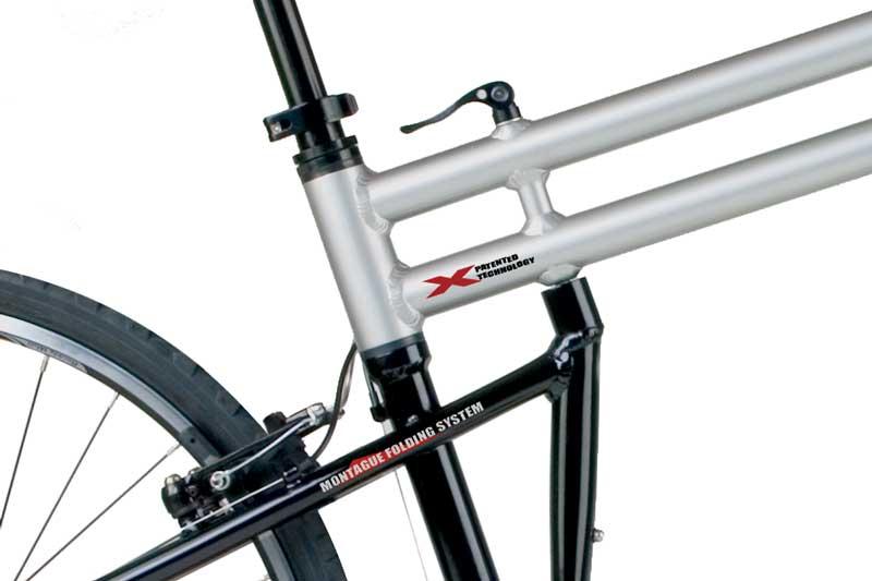 Swissbike TX Folding System Closeup