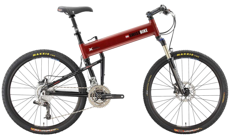 2010 XO folding bike open