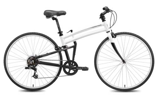 2011 Crosstown folding bike open