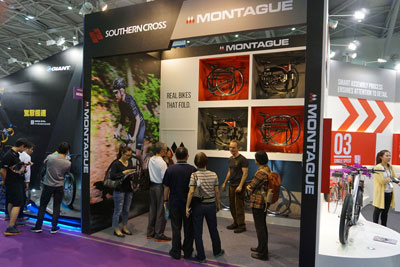 Montague Folding Bikes Booth at Taipei Cycle Show