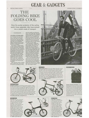 Montague in Wall Street Journal